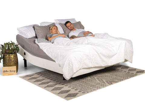 Dual King Fusion Adjustable Massage Bed