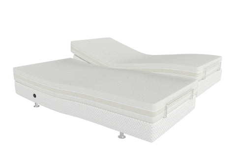 Dual King Adjustable Massage Bed