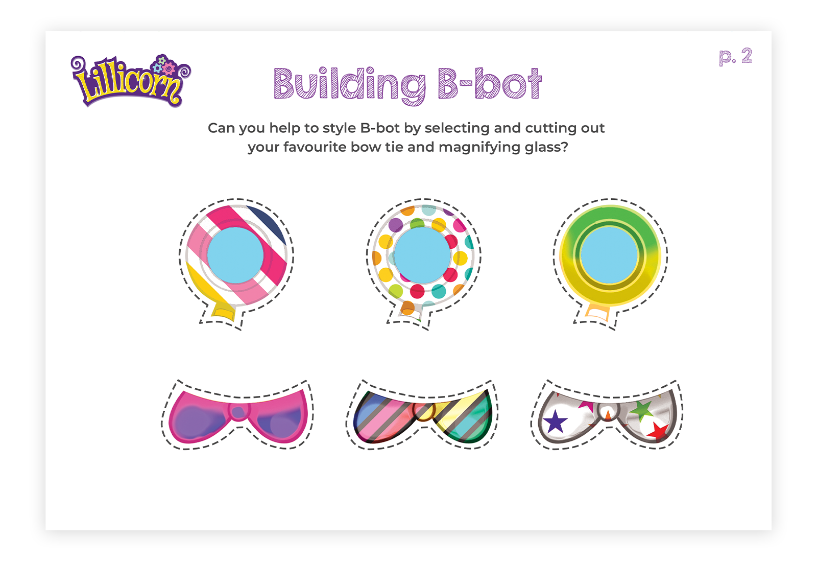 Build and style your own B-bot - page 2