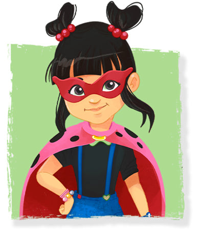 Meet Lulu Ladybug Lillicorn's BFF in The Adventures of Lillicorn book by STEM publisher QuestFriendz
