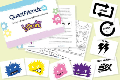QuestFriendz Teacher's Guide: Creating Classroom Quests for use in primary school classrooms