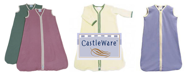 The sleep sack: baby's safe wearable blanket by Castleware