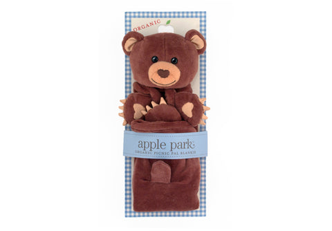 Apple Park Picnic Pal Blankie - Cubby in Package