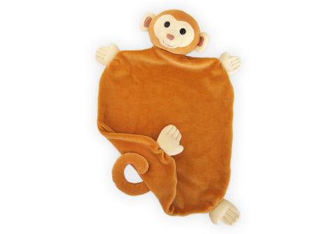 Apple Park Picnic Pal Blankie - Monkey
