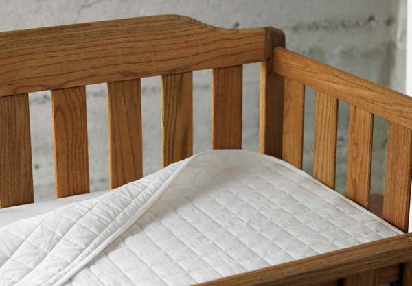 Coyuchi Organic Cottom Quilted Crib Mattress Pad