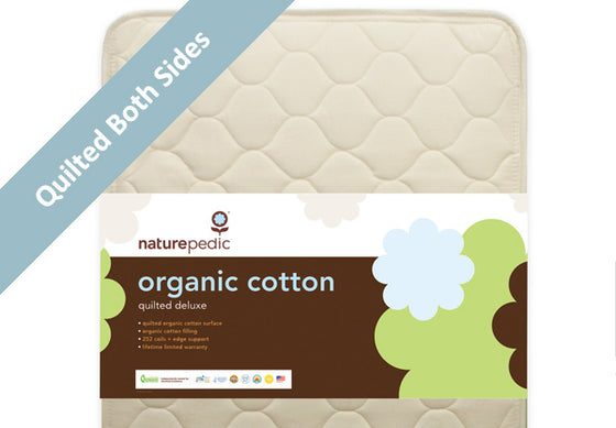 Naturepedic Organic 252 Quilted Deluxe Crib Mattress