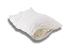 Zippered Sateen Case Inside Suite Sleep's Adjustable Woolly Bolas Pillow w/Knit Cover