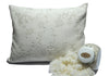 Suite Sleep Adjustable Woolly Bolas Pillow w/Knit Cover