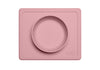 ezpz-silicone-happy-bowl-blush-safe-baby-feeding-satara