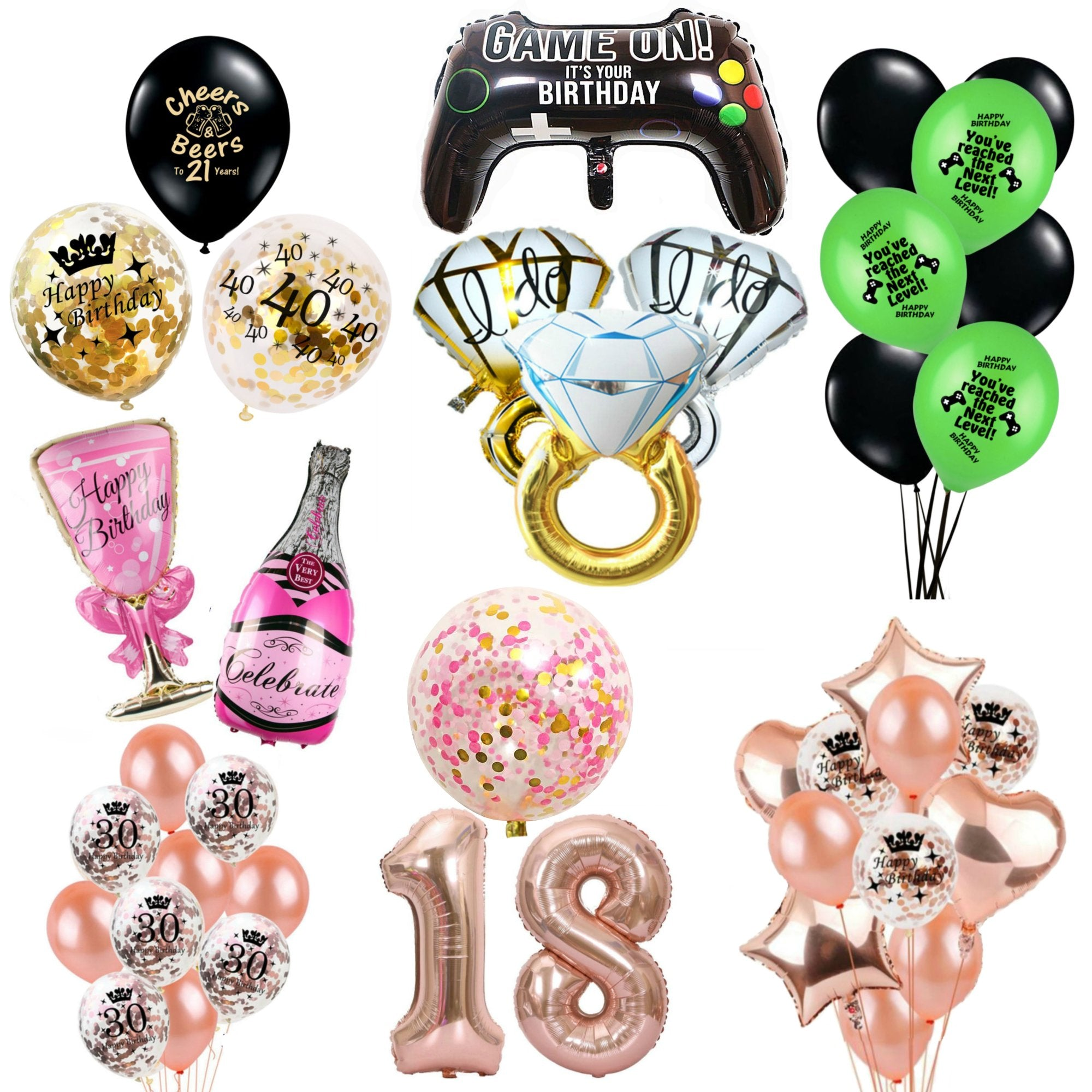 Balloons Birthday and Party Supplies