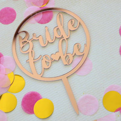 Bridal Shower Cake Topper & Happy Birthday Cake Toppers