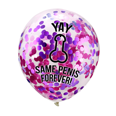 Hen Party Decorations, Same Penis Forever Balloons & Banners
