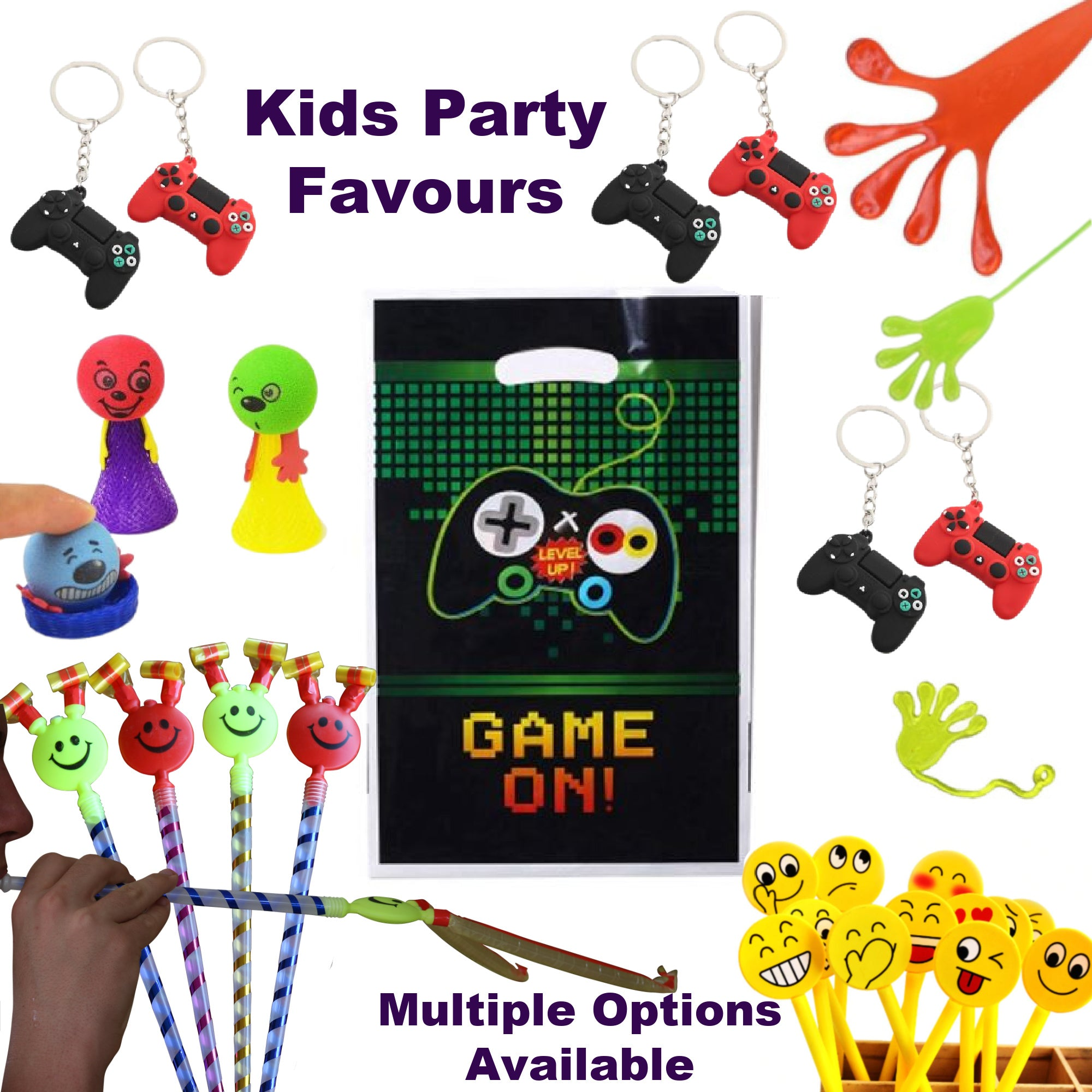 Gaming Party Supplies, Kids Party Favours