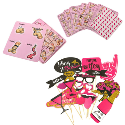 Hen Night Accessories, Hen Party Games & Decorations