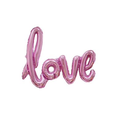 Pink Love & I Do Ring Balloons, Bridal Shower, Engagement Party Decorations