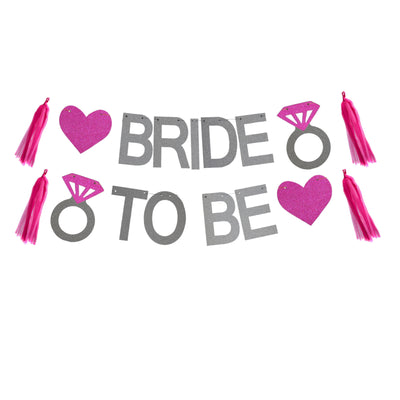 Bride to Be Banners & Balloons, Bridal Shower Decorations