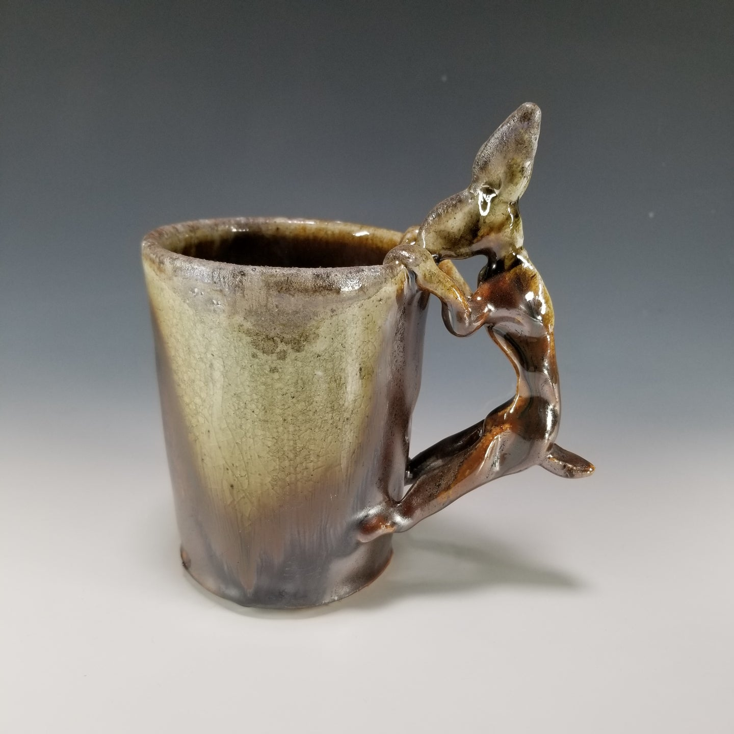 Wood Fired Rabbit Mug
