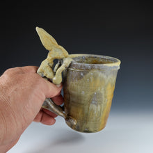 Load image into Gallery viewer, Wood Fired Rabbit Mug A032