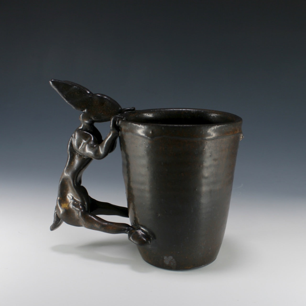 Intensely Dark Rabbit Mug #4