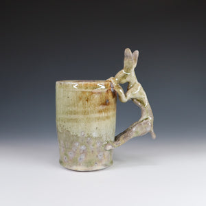 Wood Fired Rabbit Mug A039