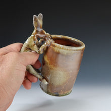 Load image into Gallery viewer, Wood Fired Rabbit Mug A039