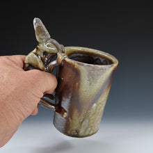 Load image into Gallery viewer, Wood Fired Rabbit Mug A041
