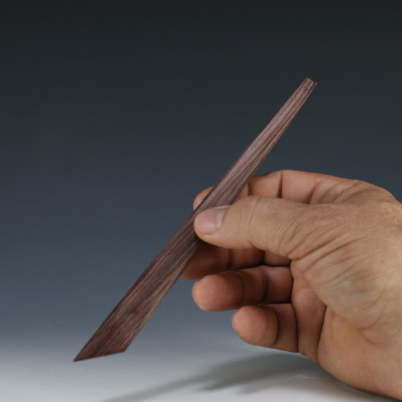 Rosewood trim knife with Chisel tip modeling Tool
