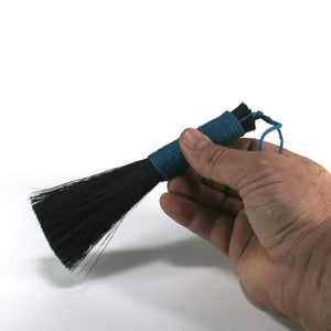 Black Tampico Fiber Haké Brush