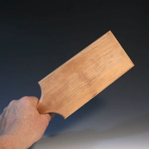 Paddle With Small Weave Pattern