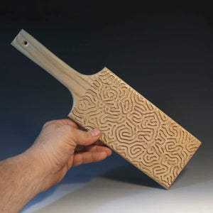 Paddle With Maze Pattern