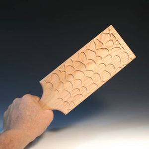 Paddle With Rocky Road Pattern