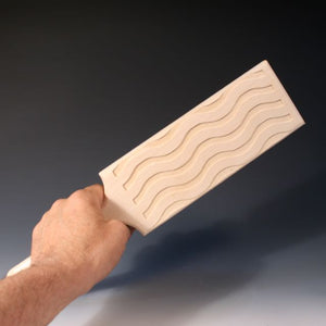 Paddle With Waves Pattern