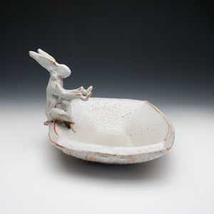 Bunny tray, brush rest, noodle bowl with chopstick rest