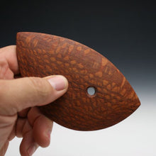 Load image into Gallery viewer, Lacewood fugu rib, bowl rib, pottery tool