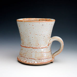 White Shino Coffee Mug 011