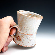 Load image into Gallery viewer, White Shino Coffee Mug 012