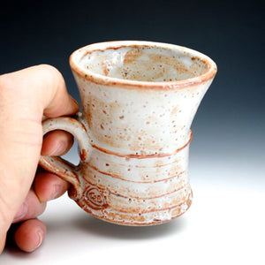 White Shino Coffee Mug 013