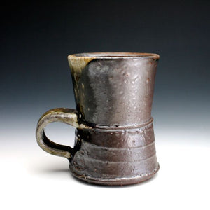 Wood Fired, Dark Shino Coffee Mug 014