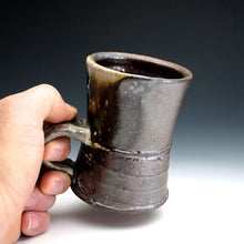 Load image into Gallery viewer, Wood Fired, Dark Shino Coffee Mug 014