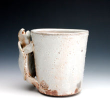 Load image into Gallery viewer, Soda Fired Shino Turtle Coffee Mug 015