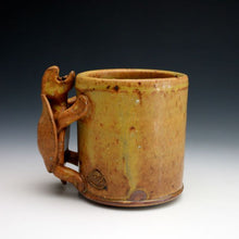 Load image into Gallery viewer, Soda Fired Shino Turtle Coffee Mug 016