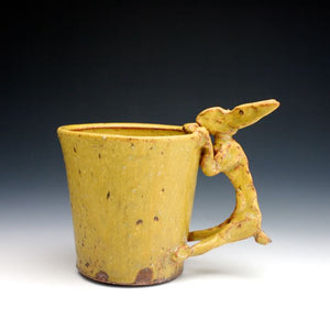 Yellow Rabbit Coffee Mug 020