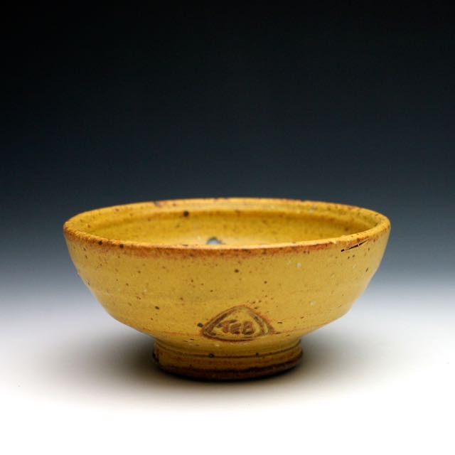 Yellow Condiment Bowl Single serving Dish 031