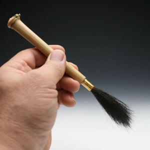 Skunk tail Bamboo Paint Brush