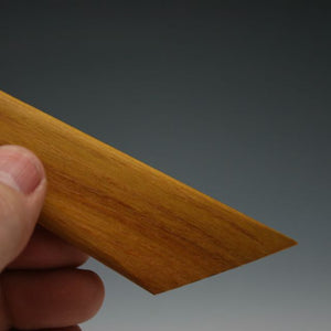 Osage Orange Trim Knife with Thumb Tip