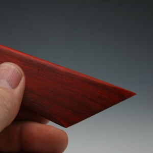 Padauk Trim Knife with thumb tip
