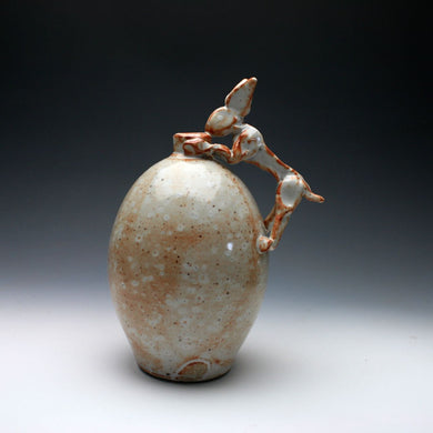 Shino Rabbit Jug 019