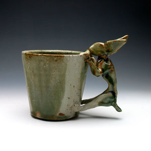 Green Rabbit Coffee Mug 023