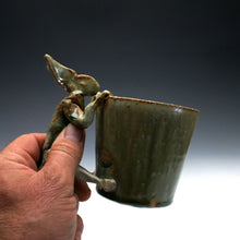 Load image into Gallery viewer, Green Rabbit Coffee Mug 023