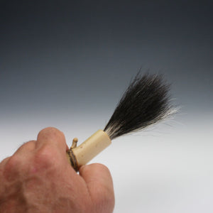 Skunk tail Bamboo Paint Brush 010